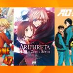 Les sorties mangas/animés : Dr. Stone, Ao Ashi, Arifureta… #22