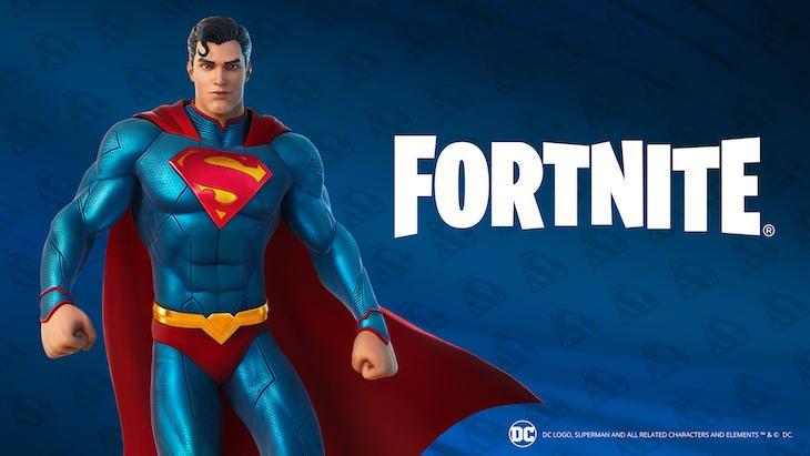 Superman débarque dans Fortnite ! À la clef, Clark Kent, Superman et des quêtes spéciales.