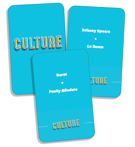 Cartes Clac ta Culture