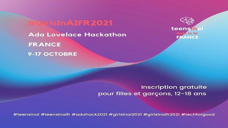Du 9 au 17 octobre, participe au hackathon de Teens in AI France !