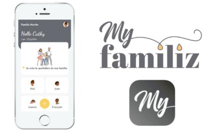 MyFamiliz, l'appli pour organiser la vie familiale !