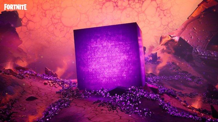 Cube Fortnite Chapitre 2 - Saison 8