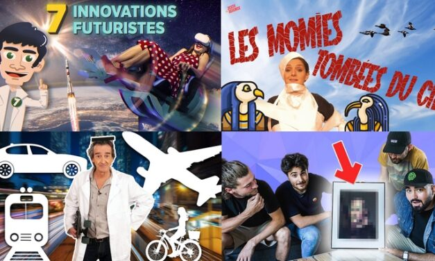 Apprendre avec YouTube #222 : L'Esprit Sorcier, String Theory, ScienceClic, Zeste de Science…