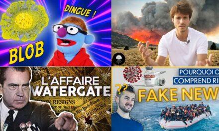 Apprendre avec YouTube #223 : Nota Bene, Dirty Biology, Mister Geopolitix…
