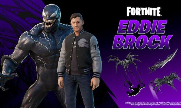 Venom débarque dans Fortnite avec la tenue d'Eddie Brock !