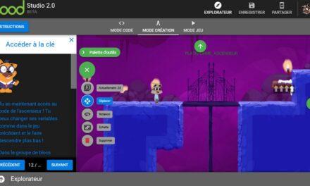 Permis de Coder, le jeu vidéo pour apprendre à coder directement depuis le site Geek Junior